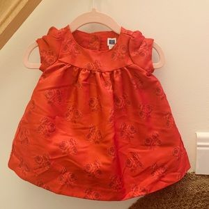 Janie and Jack Red Holiday Party Dress